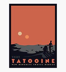 Visit Tatooine Photographic Print