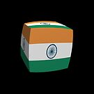 Indian Flag cubed. by stuwdamdorp