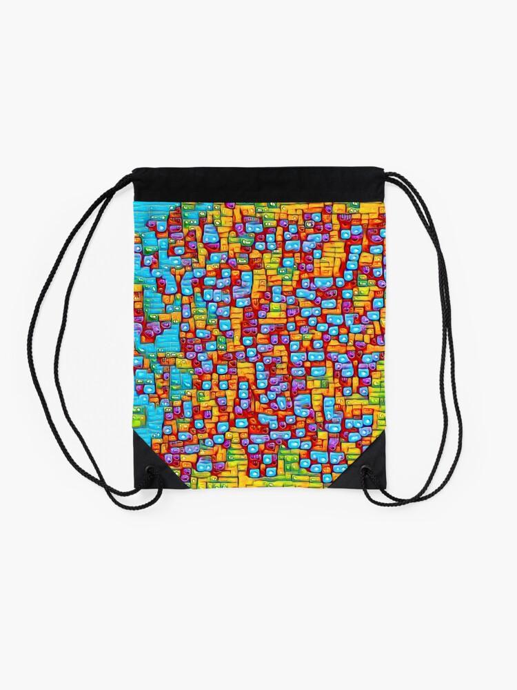 Alternate view of SkyBlue 22% Drawstring Bag