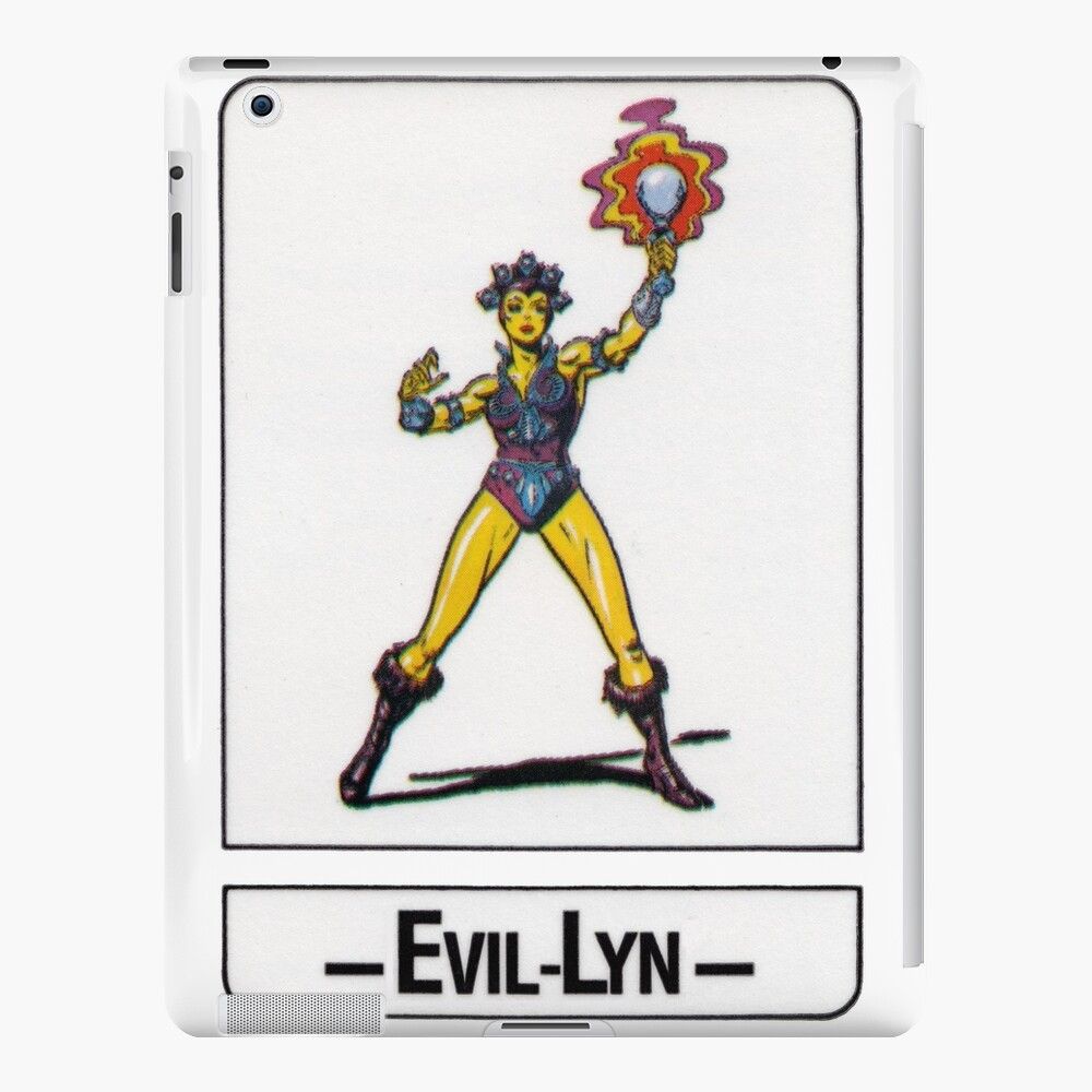 He-Man - Evil-Lyn - Trading Card Design iPad Case & Skin
