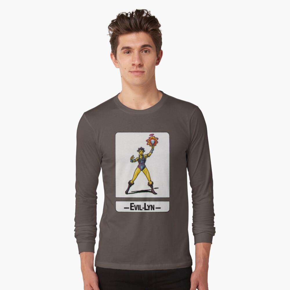 He-Man - Evil-Lyn - Trading Card Design Long Sleeve T-Shirt