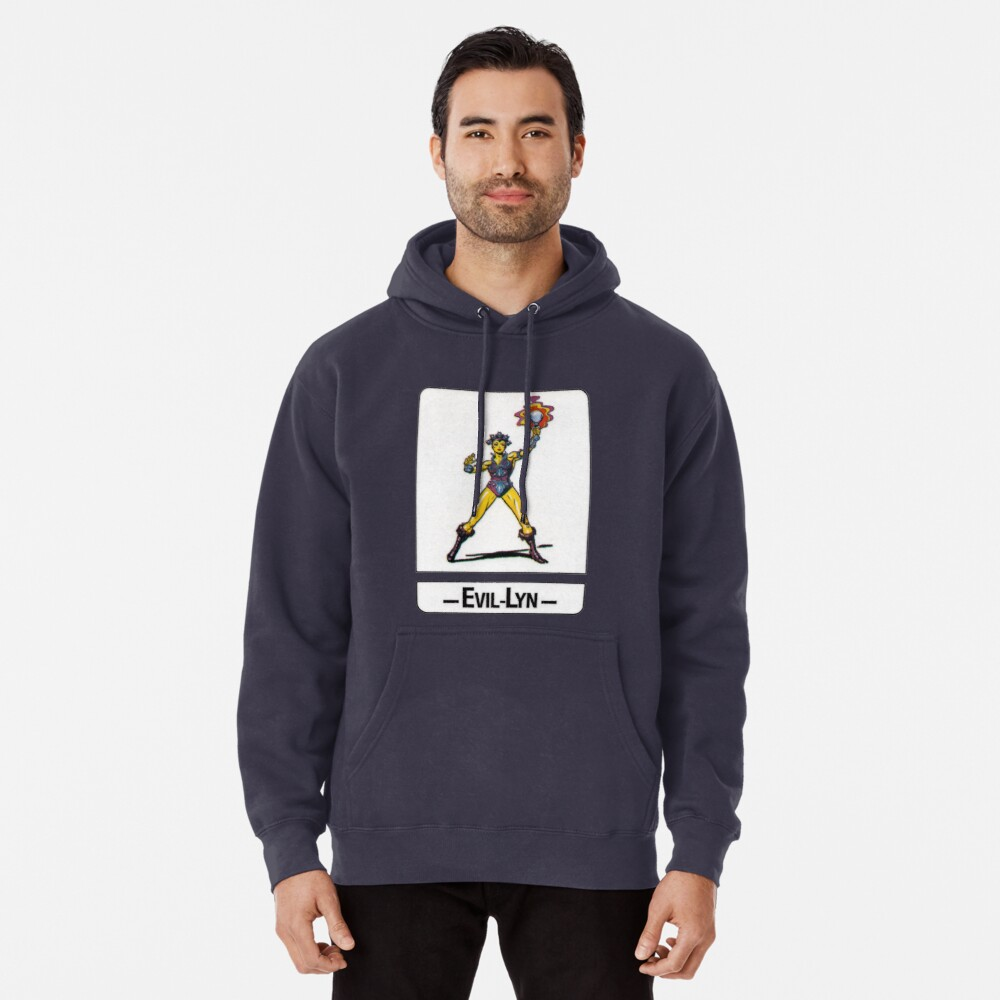 He-Man - Evil-Lyn - Trading Card Design Pullover Hoodie