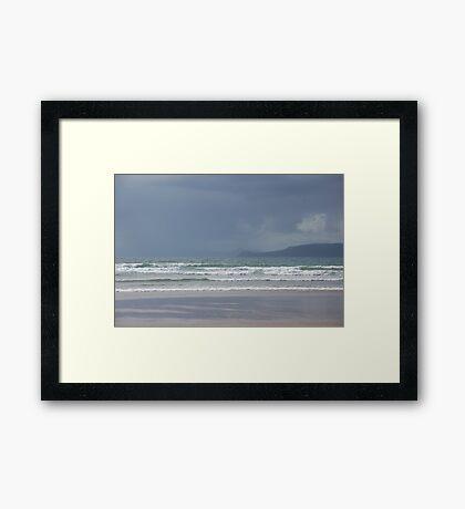 Storm in Dingle Bay Framed Print