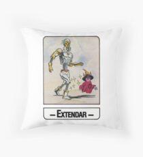 He-Man - Extendar - Trading Card Design Throw Pillow