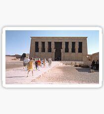 Temple of Dendera, No. 5 Sticker