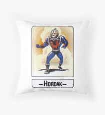 He-Man - Hordak - Trading Card Design Throw Pillow