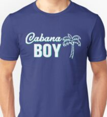 b20cdf8423be Cabana Boy - Funny Pool Boy Palm Design Unisex T-Shirt