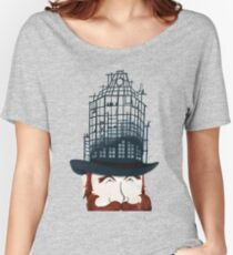 Top Hat Construction Women's Relaxed Fit T-Shirt