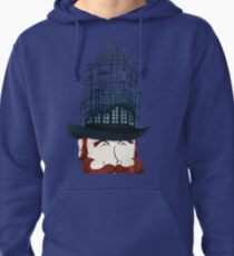 Top Hat Construction Pullover Hoodie