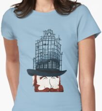 Top Hat Construction Women's Fitted T-Shirt