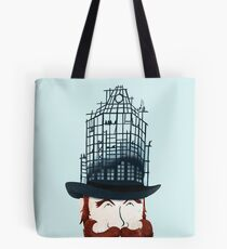 Top Hat Construction Tote Bag
