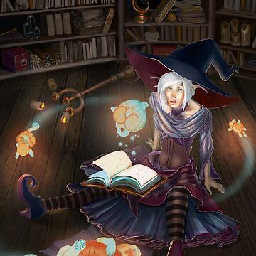 Aldiel the Halloweenie by nushie