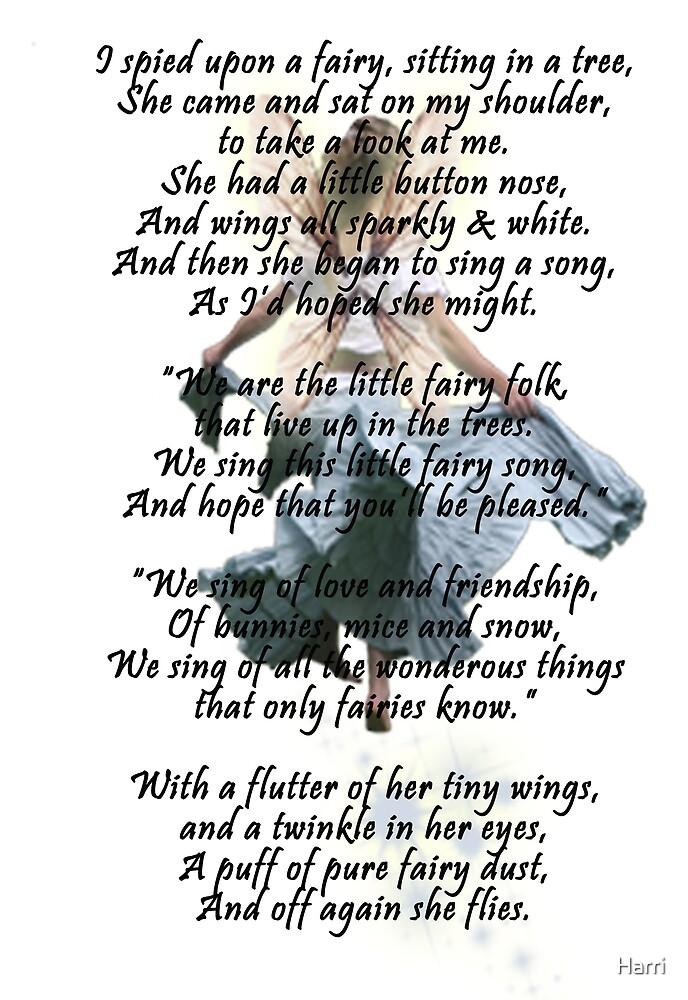 A Fairy Poem by Harri