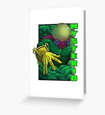 Mysterio Greeting Card