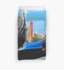 AFTER THE RAIN ON THE GRAND CANAL Duvet Cover
