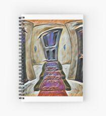 Hallway  Spiral Notebook