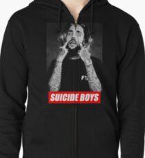 suicide boys Zipped Hoodie
