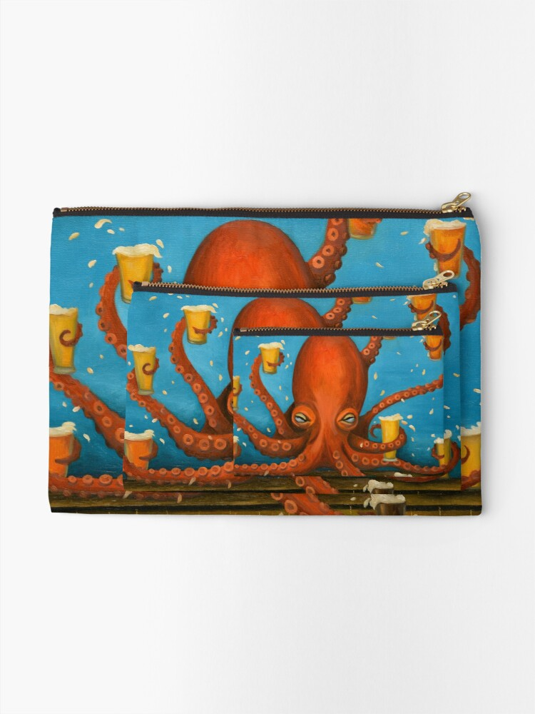 Alternate view of Life Of The Party Zipper Pouch