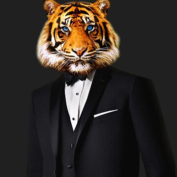 Tuxedo Tiger by timtopping