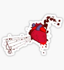 Of the Heart Sticker