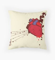 Of the Heart Throw Pillow