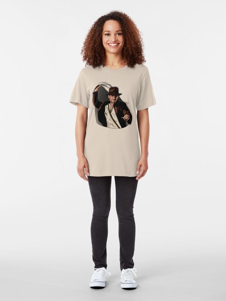 Alternative Ansicht von Dr. Jones Slim Fit T-Shirt