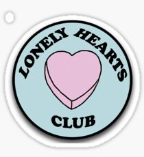 Lonely Hearts Club Patch Sticker