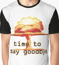 Nuclear Explosion Graphic T-Shirt