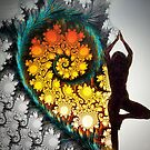 Heart Fractal Dance by jazzwall