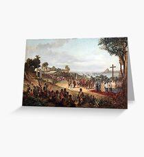 Founding of Rio de Janeiro in 1565 Greeting Card