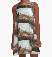 Founding of Rio de Janeiro in 1565 A-Line Dress