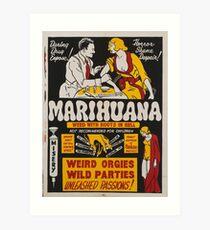 Lámina artística Marihuana