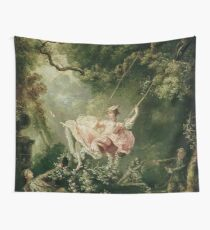 The Swing (Painting) Wall Tapestry
