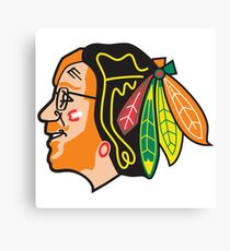 Phish / Chicago Blackhawks - Trey Hawk Canvas Print