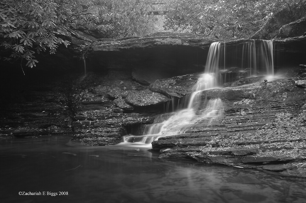 Middle Falls on Little Stony by ZachariahBiggs