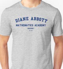 Diane Abbott Mathematics Academy luxury T-Shirt