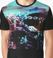 Chains and Glass Graphic T-Shirt
