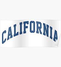 Póster Bloque de California