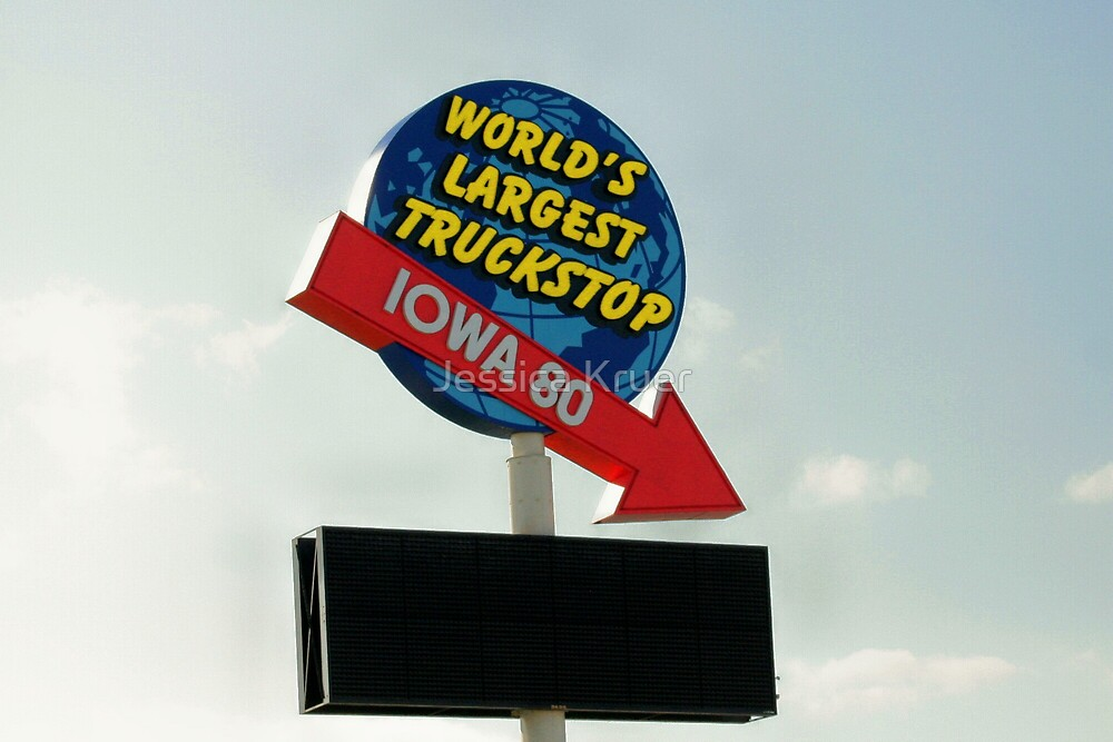 Worlds Largest Truckstop by Jessica Kruer