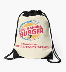 Big Kahuna Burger Drawstring Bag