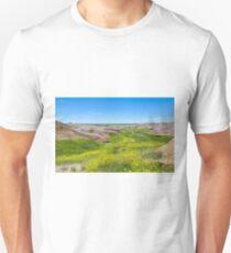 River of Green at the Badlands T-Shirt