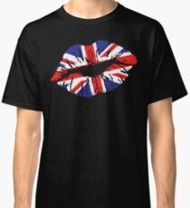 British Lips Classic T-Shirt