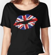 British Lips Women's Relaxed Fit T-Shirt