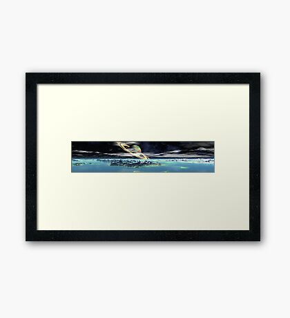 Titan Revisited Framed Print