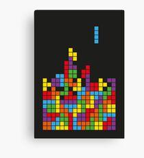 Tetris Design  Canvas Print