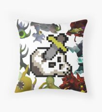 Superior Slayer Throw Pillow