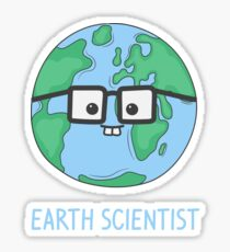 Earth Scientist Sticker