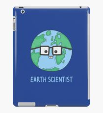 Earth Scientist iPad Case/Skin