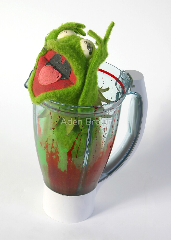 Frog in a Blender by Aden Brown