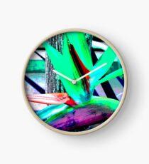 Tiger Lily Clock